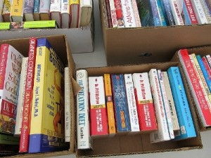 organizing-a-small-closet-books